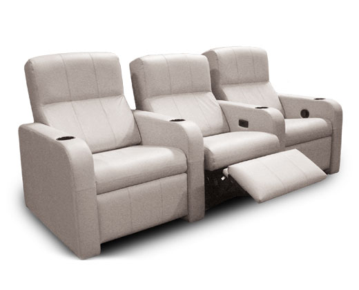 Home Theater Recliners  sc 1 st  Acoustic Frontiers & Home theater seating layout: 5 key design and placement tips ... islam-shia.org