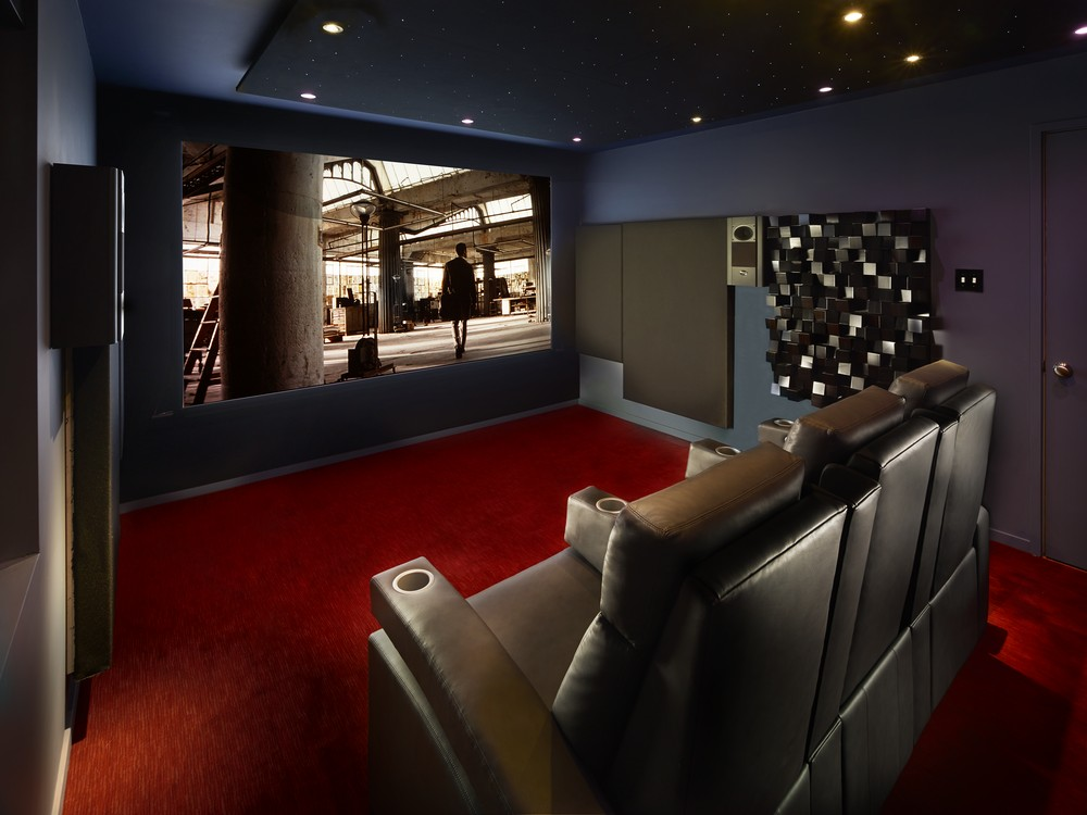 Carpet color choices for black gray room pictures wanted avs forum home theater discussions - Best paint color for home theater ...