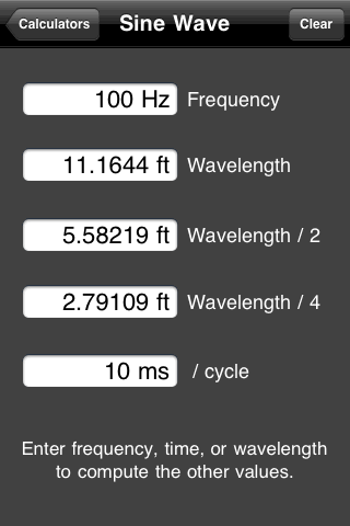 Free Apple iOS acoustic measurement app created by Studio