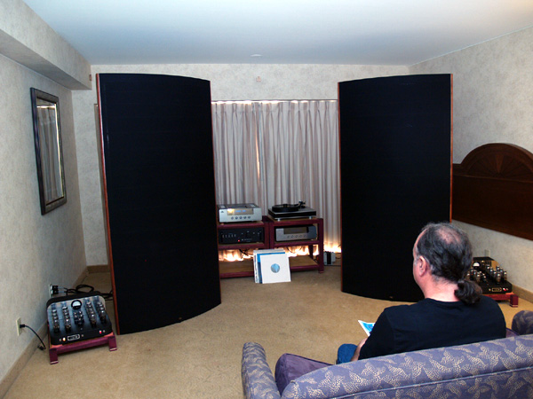 These speakers are WAY too big for this room!