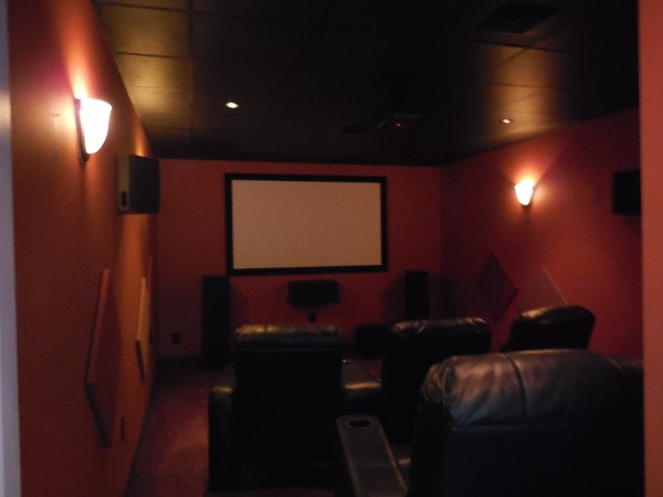 Ugly home theater