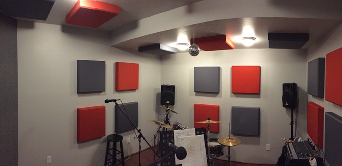An Acoustic Overhaul Of A Band Practice Space In Napa
