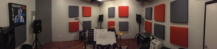 Band practice room acoustic treatment