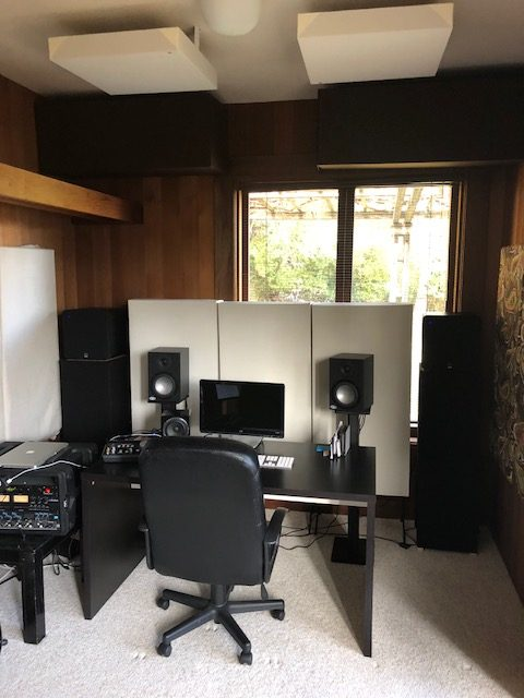 Marin home recording studio acoustics