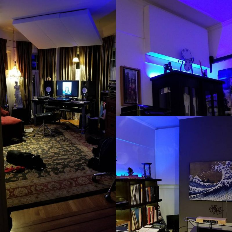 fixing the bass in a san francisco home recording studio acoustic frontiers. Black Bedroom Furniture Sets. Home Design Ideas