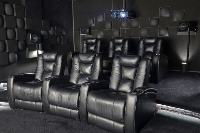 Home theater acoustic treatment design